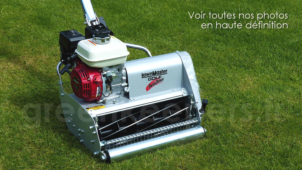 LawnMaster 500 Golf 50 cm chez Greenkeepers - Photos haute définition
